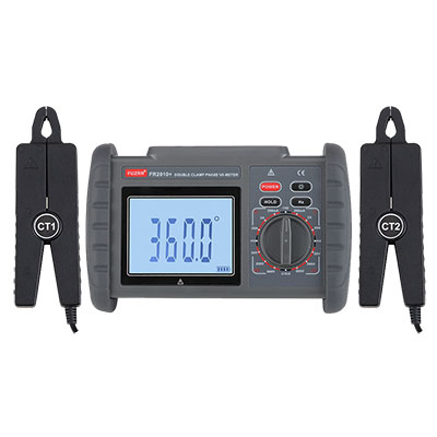 FR2010+ Double clamp digital phase voltmeter