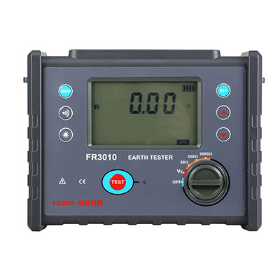 FR3010 Digital Ground Resistance Tester (Simple)