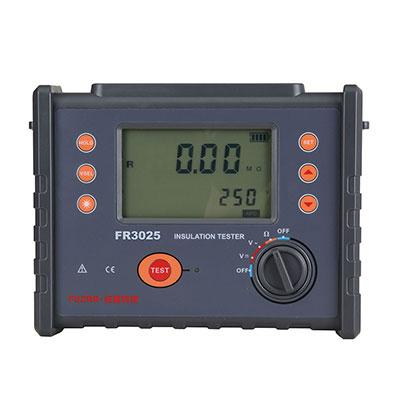 FR3025 Digital Insulation Resistance Meter 2500V